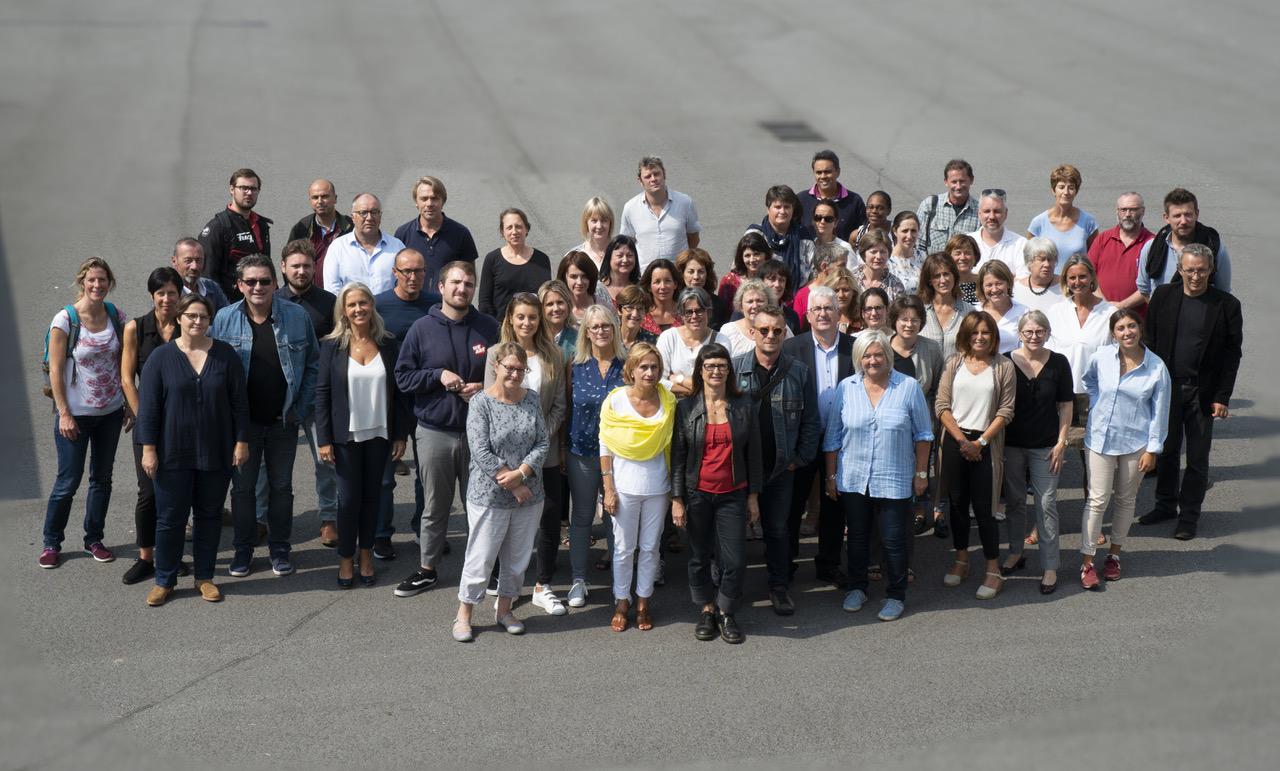 Photo de toute l'équipe enseignante rentrée 2020